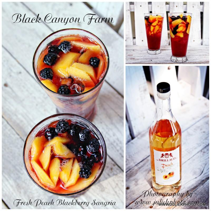 Peach Blackberry Sangria